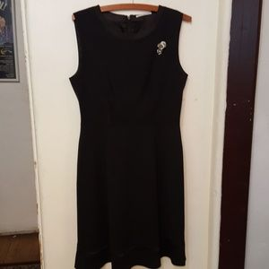 Elie Tahari black coctail black dress